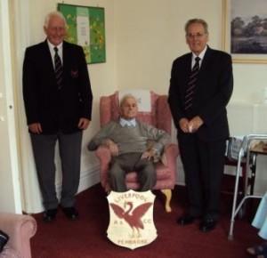 Jimmy Auburn on his 100th birthday