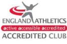 England Athletics Accredited Club logo