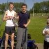 Jai Vernon McGuigan & Sean Kirkbride with J.S Lubbock Trophy