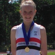 Rosie Johnson with Northern Gold Medal