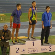 Luke & Adam receive their medals