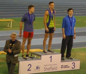 Luke & Adam receive their medals