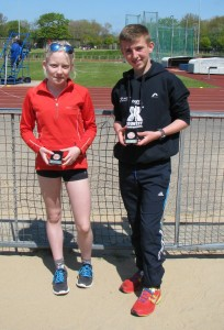 Charlotte Mawdsley & Ben Singleton both picked up bronze medals in their 3000m races at Blackpool