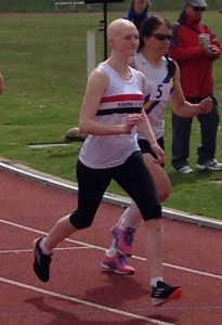 Maxine Thompson in action at Douglas May 2013