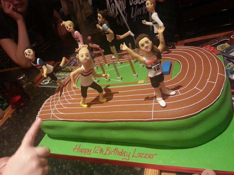 Athlete Birthday Cake