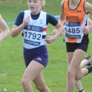 Katie Richardson in action at Sefton Park