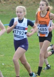 Katie Richardson in action at Sefton Park