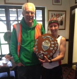 Kirsty Longley winner Guy's 10 Mile Road Race