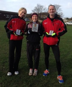 Lisa Gawthorne, Kirsty Longley Greg Callaghan Southport 10k