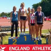 Amelia McLaughlin England U/20 high Jump Champion 2010