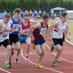 Harry Doran (1210) and Rob Parkinson (490) in 800m