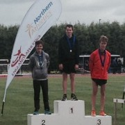 Northern Athletics Champion Dan Slater