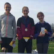 Angela Delaney, Lisa Gawthorne, Tracy Peters first three women in Southport 5k
