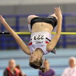 Amelia McLaughlin in action at Sheffield