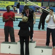 Phil Taylor AAA Indoor 400m champions 2004