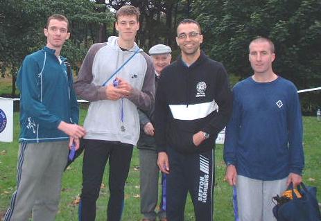 Alan Woods, Adam Clancy, Sammy Rashid, Joey Parkinson