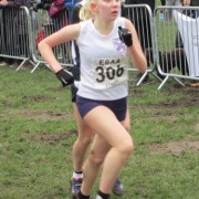 Charlotte Mawdsley in action at Witton Park