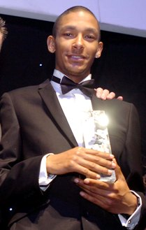 Micheal Rimmer Merseyside Sports Personality of the Year 2007