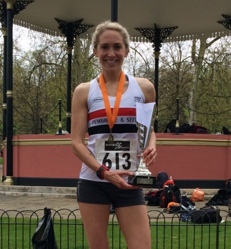 Lisa 2nd in Hyde Park 10k