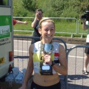 Kirsty Longley Merssy Tunnel 10k winner 2009
