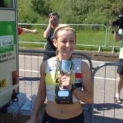 Kirsty Longley Merssy Tunnel 10k winner 2009