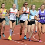 Rosie Johnson & Clare Constable in the 1,500m