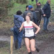 Rosie Johnson in action at Witton Park