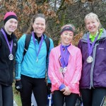 Vicky Jones, Kirsty McKenzie, Kirsty Longley, Clare Constable
