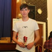 Tom Dickinson U15B bronze medalist