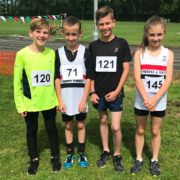 L-R Lewis Tinsley, Evan Williams, Ethan Tinsley, Eve Hannaway