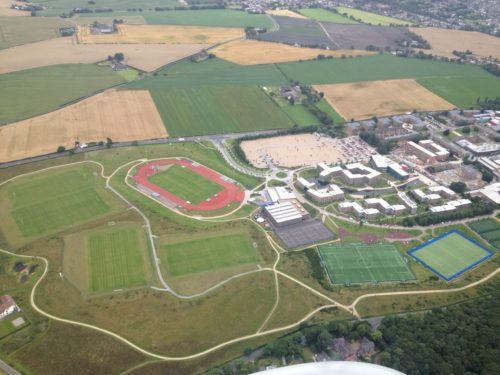 Edge Hill Aerial Photo