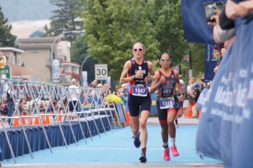 Lisa Gawthorne at ITU World Multi Sport championships in Canada