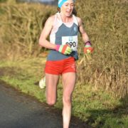 Kirsty in Rible Valley 10k
