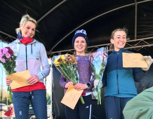 Kirsty Longley, Thorpe Park half marathon winner