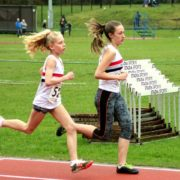 Emily Williamson leads Chloe Bousfield