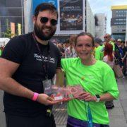 Hillary Honeyball winner of Liverpool marathon 2018