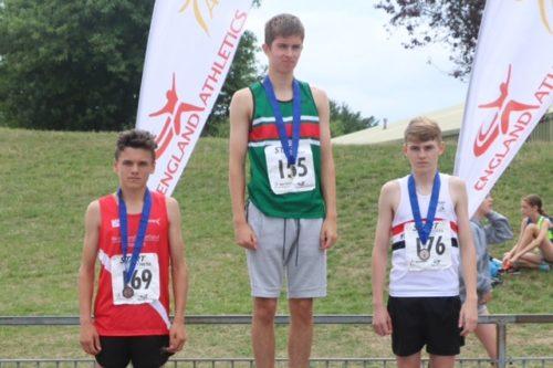Mark Roberts silver medal at Wavertree