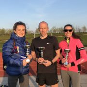 Tiffany Penfold, Chris Maher, Vicky Gilbody