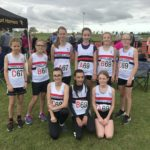LPS Under 13 girls turned out in numbers at Ormskirk