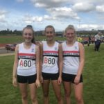 Under 17 girls who cane 5th on Merseyside and 13 overall