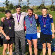 Merseyside road relays Champions 2019, Chris Maher, Mark Wynne, Tony O'Brian, Dan Slater