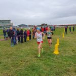 Kirsty Longley Leading at Master XC 2019