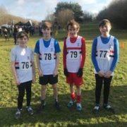 Under 15 Boys Silver Medal winners 2020