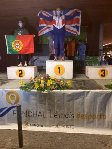 Lisa Gawthorne 10k gold medal winner