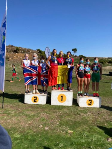 Team Silver in cross country